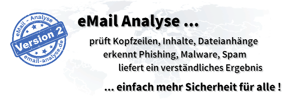 Spam,- und Phishing Analyse Tool